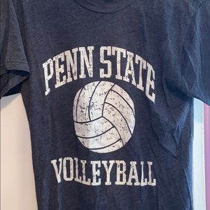 Tops - Soft Penn State Volleyball Tshirt